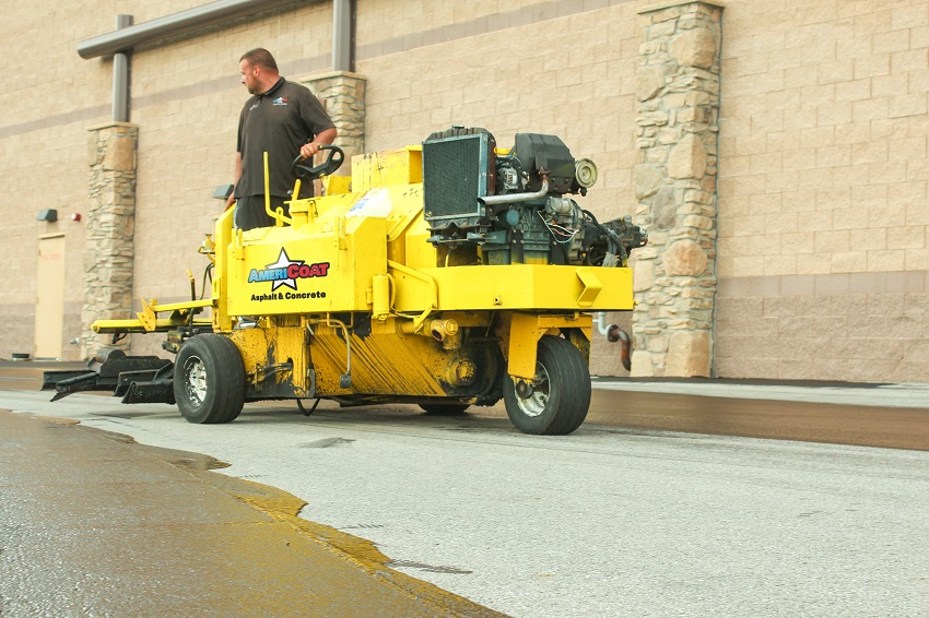commercial sealcoating asphalt equipment
